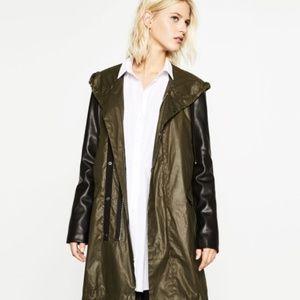 Zara Women's Raincoat